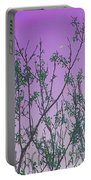 Spring Branches Lavender Portable Battery Charger