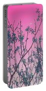 Spring Branches Rose Portable Battery Charger