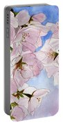 Spring- Cherry Blossom Portable Battery Charger