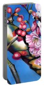 Spring Cherry Blossoms Portable Battery Charger