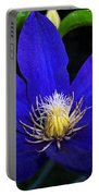Spring Clematis Portable Battery Charger