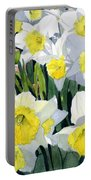 Spring- Daffodils Portable Battery Charger