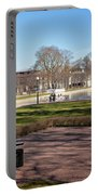 Spring Day At The Park Portable Battery Charger