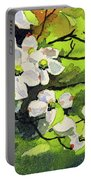 Spring Dogwoods Portable Battery Charger