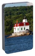 Spring Evening At Esopus Lighthouse Portable Battery Charger