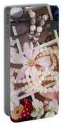 Spring Flowers Box Portable Battery Charger