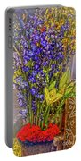 Spring Flowers For Sale Portable Battery Charger