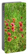 Spring Flowers Portable Battery Charger