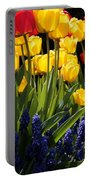 Spring Flowers Square Portable Battery Charger