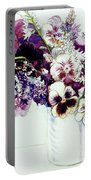 Spring Flowers With Fritillaria  Portable Battery Charger
