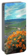 Spring Hilltop View Portable Battery Charger