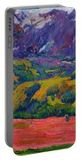 Spring In Bergell Portable Battery Charger