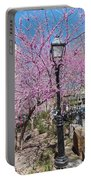 Spring In  Columbus Park 1 Portable Battery Charger