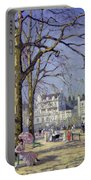 Spring In Hyde Park Portable Battery Charger