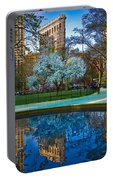 Spring In Madison Square Park Portable Battery Charger