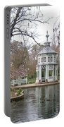 Spring In The Aranjuez Gardens Spain Portable Battery Charger