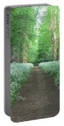 Spring In The Avenue Portable Battery Charger