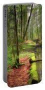 Spring In The Forest Portable Battery Charger