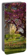 Spring In The Garden Portable Battery Charger