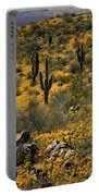 Spring In The Sonoran Desert  Portable Battery Charger