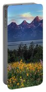 Spring In The Tetons Portable Battery Charger