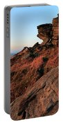 Spring Landscape, Gritstone Rock Formations, Stanage Edge Portable Battery Charger