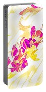Spring Light Abstract Portable Battery Charger