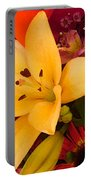 Spring Lily Bouquet Portable Battery Charger