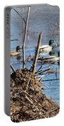 Spring Mallards Portable Battery Charger