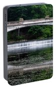 Spring Morning At White Bridge II Portable Battery Charger