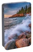 Spring Morning In Acadia National Park Portable Battery Charger