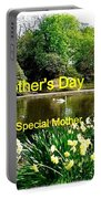 Spring Mother's Day Greeting Portable Battery Charger