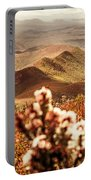 Spring Mountain Blossoms Portable Battery Charger