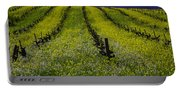 Spring Mustard Field Portable Battery Charger