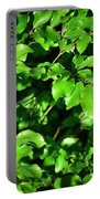 Spring New Beech Leaves Portable Battery Charger