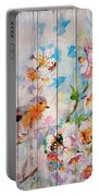 Spring On Wood 06 Portable Battery Charger