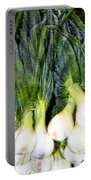 Spring Onions Portable Battery Charger