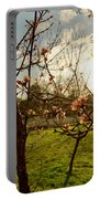 Spring Orchard In Williamsburg Portable Battery Charger