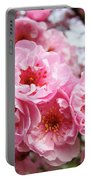 Spring Pink Tree Blossoms Art Prints Baslee Troutman Portable Battery Charger