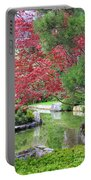 Spring Pond Reflection Portable Battery Charger