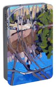 Spring Reflections Portable Battery Charger