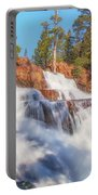 Spring Runoff At Glen Alpine Falls Portable Battery Charger