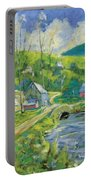 Spring Scene Portable Battery Charger