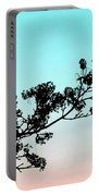 Spring Silhouette Portable Battery Charger