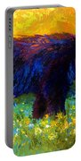 Spring Stroll - Black Bear Portable Battery Charger