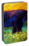 Spring Stroll - Black Bear Portable Battery Charger