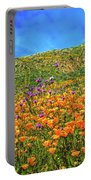Spring Superbloom In Walker Canyon Portable Battery Charger