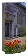 Spring Time At The Muskegon Museum Of Art Portable Battery Charger