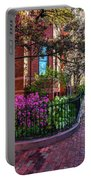 Spring Time In The City Portable Battery Charger