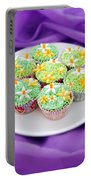 Spring Time Is Cupcake Time Portable Battery Charger